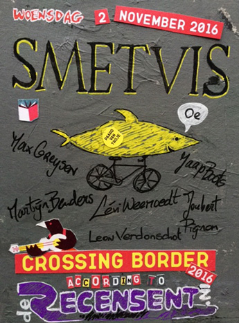 Smetvis op Crossing Border