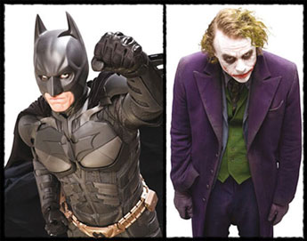 Batman en The Joker