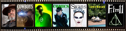 True cowboys, green comics, black swans somewhere in film 11