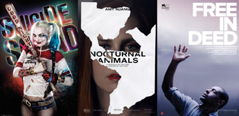 Suicide Squad, Nocturnal Animals, Free in Deed
