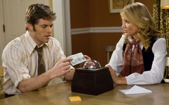 The Box met James Marsden en Cameron Diaz